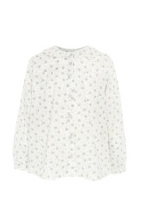 JULIE / Peter Pan collar flower blouse / long sleeves - available in 3 colours
