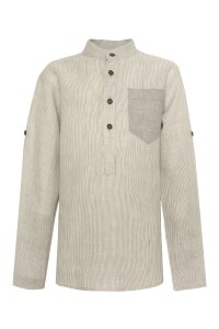 GINO shirt with buttons for boys striped
