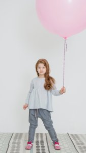 ANNIE COTTON girls muslin blouse